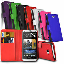 HTC Desire 530 - Leather Wallet Card Slot Case Cover