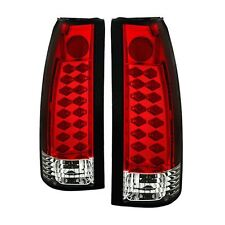 Spyder Chevy C/K Series 1500/2500/3500 88-98  LED Tail Lights - Red Clear