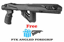 UAS R10/22 PTK Fab Defense Tactical Stock for Ruger 10/22 w/ Free Angled Handle
