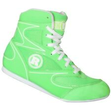 Ringside Diablo Low Top Boxing Shoes - Neon Green