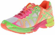 Asics GEL-NOOSA TRI 9 GS Girls Running Shoes White/Lime/Hot Pink C401N 0105 NIB