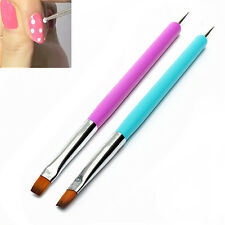 HOT Design Nail Art Dotting Painting Drawing Pen UV Gel Liner Polish Brush Tool