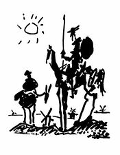 PABLO PICASSO DON QUIXOTE art Poster | Cubical ART | Gifts | FREE Shipping