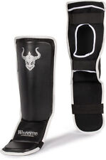 Warrior MMA Shin Guards Grappling Instep Sparring Gear Kickboxing Muay thai