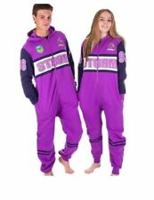 MELBOURNE STORM NRL TEAM ADULT ONESIE FOOTBALL FOOTYSUIT UNISEX PYJAMAS