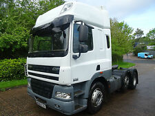 2010 / 60 DAF CF 85.460 SPACE CAB TRACTOR UNIT