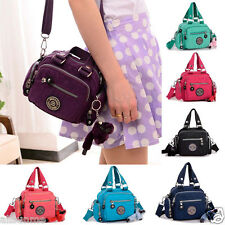 Fashion Women Waterproof Nylon Zipper Handbag Shoulder Diagonal Bag Messenger US