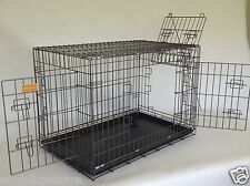 Bull breed heavy duty 3 door dog cage by Doghealth - The Stronger Cage