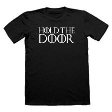 HOLD THE DOOR HODOR tshirt t-shirt T SHIRT GAME OF THRONES TEE  LANISTER