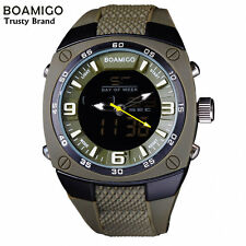 Extra Large Military Style Watch Mens Analog & Digital Watches Luxury Brand