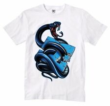 DC Shoes MAMBA  Boys Youth Short Sleeve T-Shirt Medium White NEW