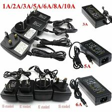 1A/2A/3A/5A/6A/8A/10A DC 12V Power Supply Transformer Adapter For LED Strip