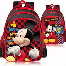 Men boys Mickey 3D Travel Bag Satchel Backpack Rucksack Shoulder SchoolBag