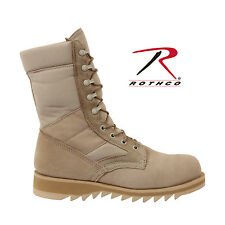 Rothco G.I. Type Ripple Sole Desert Tan Jungle Boots - 5058