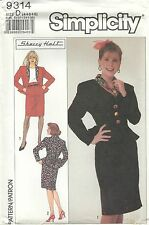 Simplicity 9314 Misses'/Miss Petite Two-Piece Dress   Sewing Pattern