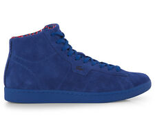 Lacoste Women's Broadwick Hi Shoe - Blue Suede
