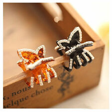 1pcs Butterfly Crystal Rhinestone Claw Hairpin Women Hair Clamp Accessory Clip