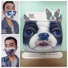Cool Unisex Warm Cartoon Dog Healthy Cotton  Mouth Face Mask Respirator Gauze