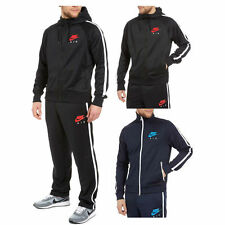 NEW MENS NIKE AIR LIMITLESS FULL TRACKSUIT HOODIE JOGGING BOTTOMS BLACK S M L XL