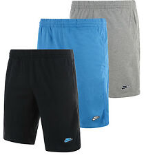 New Mens Nike Cotton Shorts Sports Gym Training Knee Length in S/M/L and XL