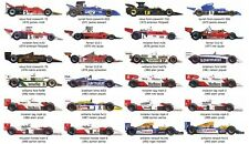 A4 EDIBLE ICING SHEET F1 CARS 1970 TO 1993 IDEAL FOR ANY F1 FAN