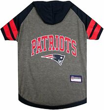 New England Patriots Tee Hoodie NFL Official Dog Pet shirt (all sizes)