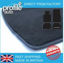 Car Mats Toyota Avensis 2003 - 2009 Black Fully Tailored  Rubber Carpet Colours