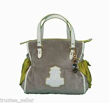 NWT Juicy Couture Fashion Thyme Crisp Cool Ms Daydreamer Tote Bag + Charm