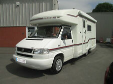 Auto Sleeper SHERBOURNE 4 BERTH LARGE END BATHROOM OVER CAB BED LOW MILES AWNING