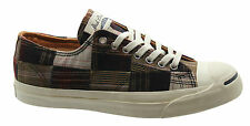 Converse Jack Purcell JP Ltt OX Brown Canvas Mens Low Trainers Lace 125244C U110