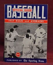 Baseball Guide and Record Book 1957 Taylor Spink 1957 Paperback