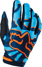 2016 FOX RACING WOMENS LADIES GIRLS MX ATV BMX RIDING AQUA DIRTPAW RACE GLOVES
