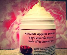 WHIPPED BATH SOAP- FALL SCENTS! Creamy, perfect shaving cream!