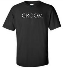 Groom Groomsmen T-Shirt Bachelor Party Wedding Mens Tee More Colors