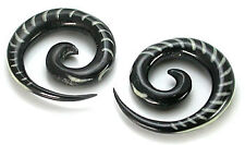 Spinal Inlay Spiral Horn Organic Wholesale Body Jewelry - Price Per 1