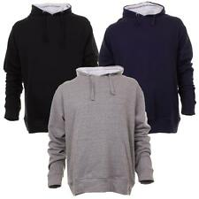 Mens Rock N Rock Hooded Casual Sweat Top Track Top In 3 Colours