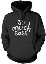 So Much Sass  - Fashion Hipster Cute Tumblr Hoodie Many Colours and Sizes