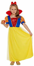Disney Snow White Inspired Fancy Dress Dressing Up Outfit Age 4-9 Henbrandt New