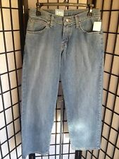 Lee Premium Size 18 Regular Select Loose Straight Leg Adjustable Waist Jeans NWT