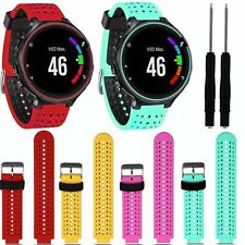 Silicone Watch Band Strap Bracelet For Garmin Forerunner 235 630 230 w/Tools