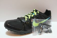 NIKE Zoom Rival S 6 steel spike track & field shoe black volt w/ WRENCH TOOL