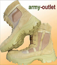 Desert Storm Army Combat Boots Military Patrol Side Zip