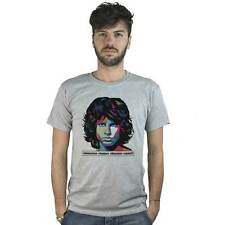 T-shirt Jim Morrison The Doors, T-shirt Rock grey, Club of 27, Life is short