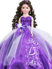 NEW Quinceanera Doll For Quinceañera Girl Birthday Party Q2045