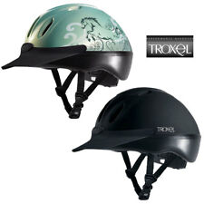 TROXEL SPIRIT BLACK DURATEC THE NUMBER ONE ALL PURPOSE RIDING HELMET ABS UPPER