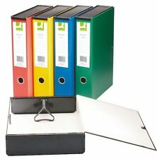 Pack of 10 Quality Foolscap Box Files Folder (Fits A4 and Foolscap)