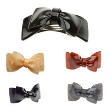 Fashion Lady Women Girl Acrylic Big Bowknot Barrette Hairpin Hair Clips Hair Bow