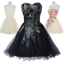 50s Vintage Party Ball Gown Formal Homecoming Prom Bridesmaid Dresses Graduation