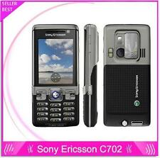 Original Sony Ericsson C702 Unlocked Cell Phone GPS 3G 3.15MP Unlocked Bluetooth