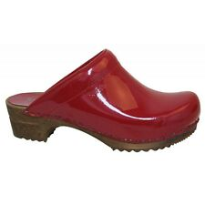 Sanita - Wood Classic Open Patent - Red